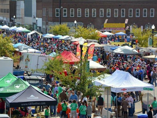 About 18,000 people attend last year's Delta Hot Tamale Festival in Greenville.