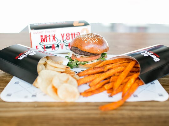 Burgerim lets customers build their own burgers with
