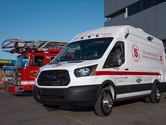 The Salvation Army's Emergency Disaster Services canteen