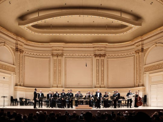 The Guam Territorial Band performs at Carnegie Hall earlier this year.