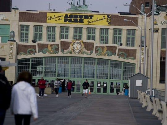 Convention Hall hosts the Asbury Park Christmas Tree