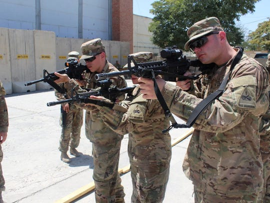 Soldiers with the Force Protection Platoon, Special