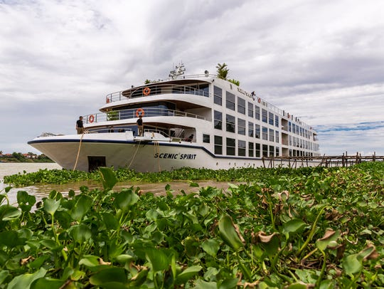 Scenic Cruises offers an 11-day trip, sailing the Mekong