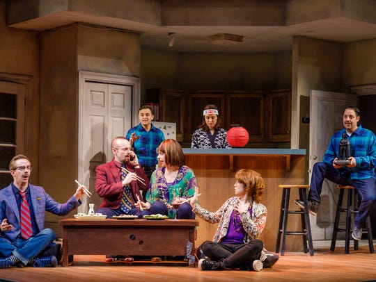 The entertaining cast of 'The Other Josh Cohen.'