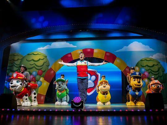"""Paw Patrol Live: Race to the Rescue"" comes to the"
