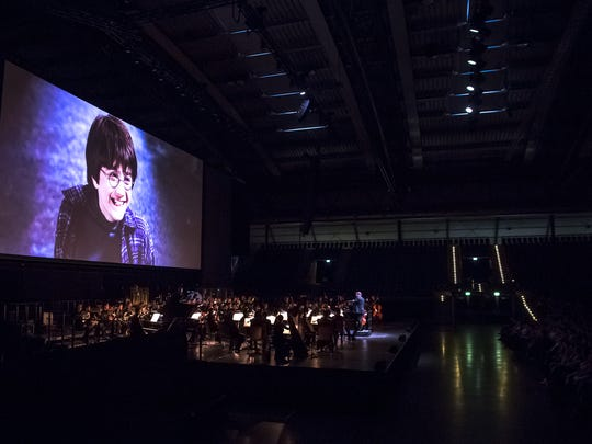A promotional photo for the Harry Potter Film Concert