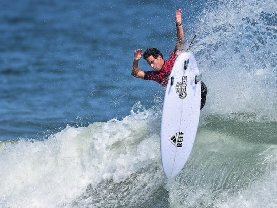 New Smyrna Beach's Evan Geiselman returns as the defending champion in the Florida Pro.
