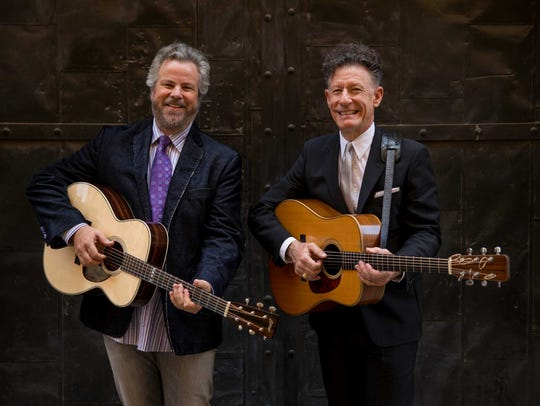 Robert Earl Keen and Lyle Lovett