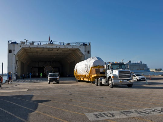 The United Launch Alliance Atlas V booster and Centaur
