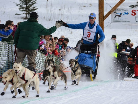 Great Falls dentist Brett Bruggeman has competed in every Race to the Sky sled dog race since 2013, winning the 300-mile event for the first time on Tuesday. He also has competed in the Iditarod.
