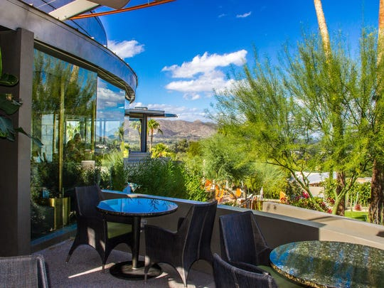 The gorgeous view from the Jade Bar at Sanctuary Camelback
