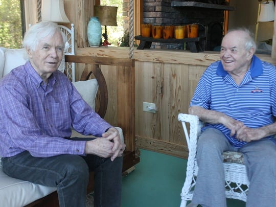 Former Public Service Commissioner Nielsen Cochran, right, and his brother, the late longtime Sen. Thad Cochran.
