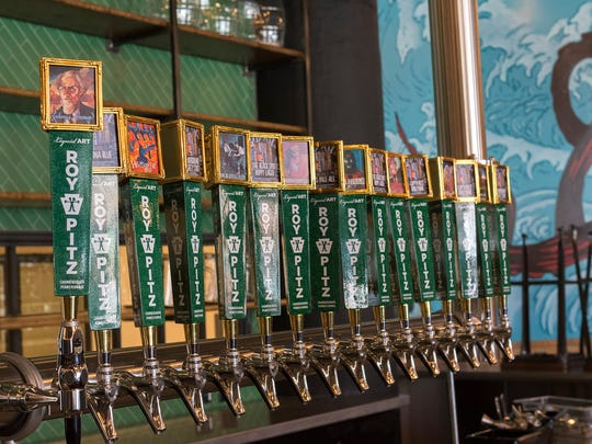 Taps will pour mostly house beer at Roy-Pitz Barrel House.