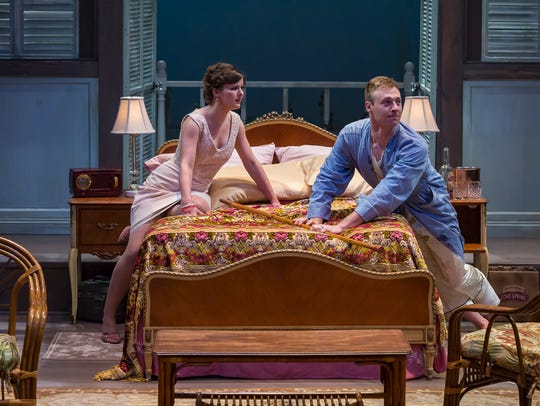 Maggie Lou Rader as Maggie and Grant Niezgodski as
