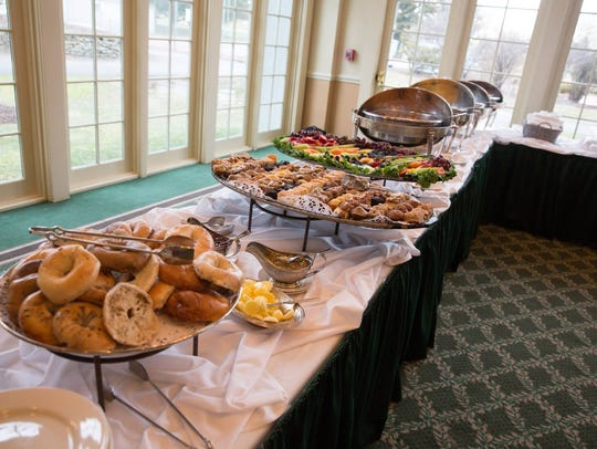 Enjoy a bountiful Mother's Day brunch at Forsgate Country