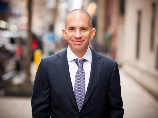 Jonathan Trichter, a Democrat running on the Republican line for New York state comptroller in 2018.