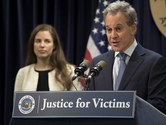 Now disgraced former Attorney General Eric Schneiderman