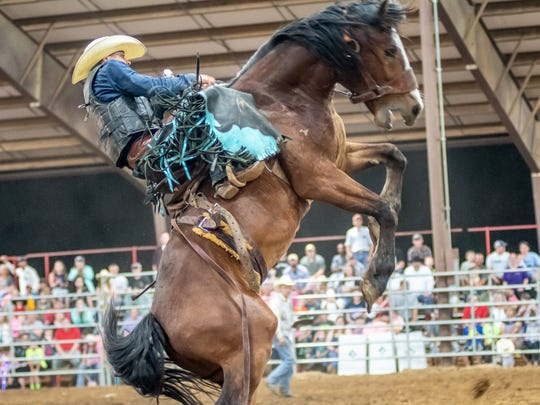 The Kiwanis Rodeo was held this weekend at the 4H Arena