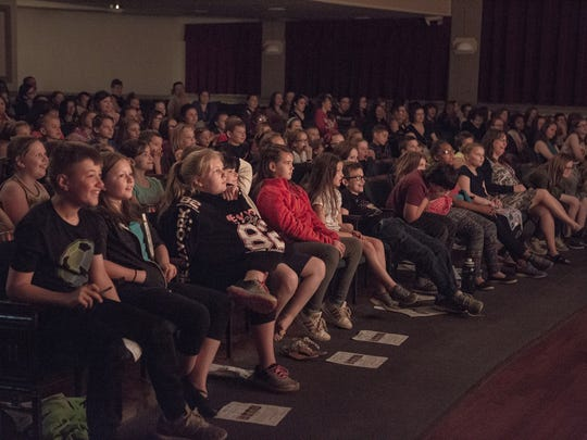 About 300 Norwich City School District and Holy Family School studnets attended a performance by Tri-Cities Opera at the Martin Kappel Theater on May 10.