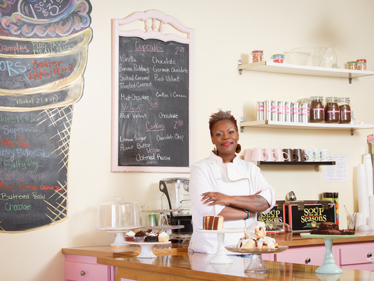 Good Cakes and Bakes chef April Anderson is one of