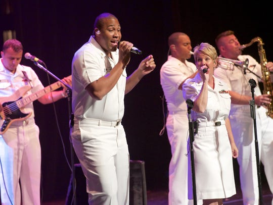 The United States Navy Band Cruisers performance is