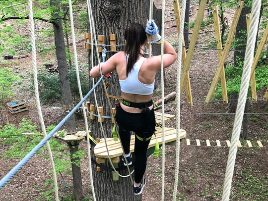 Treetop Quest is now open in Fairmount Park.