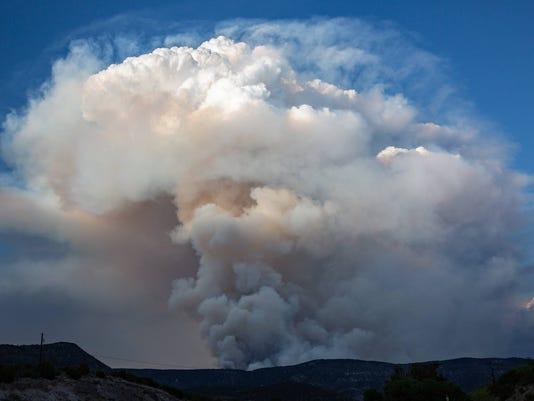 Mescalero Fire 1
