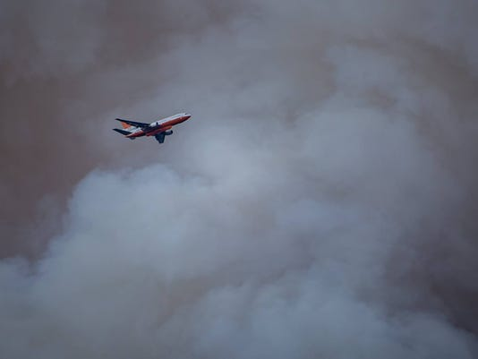 Mescalero Fire 2