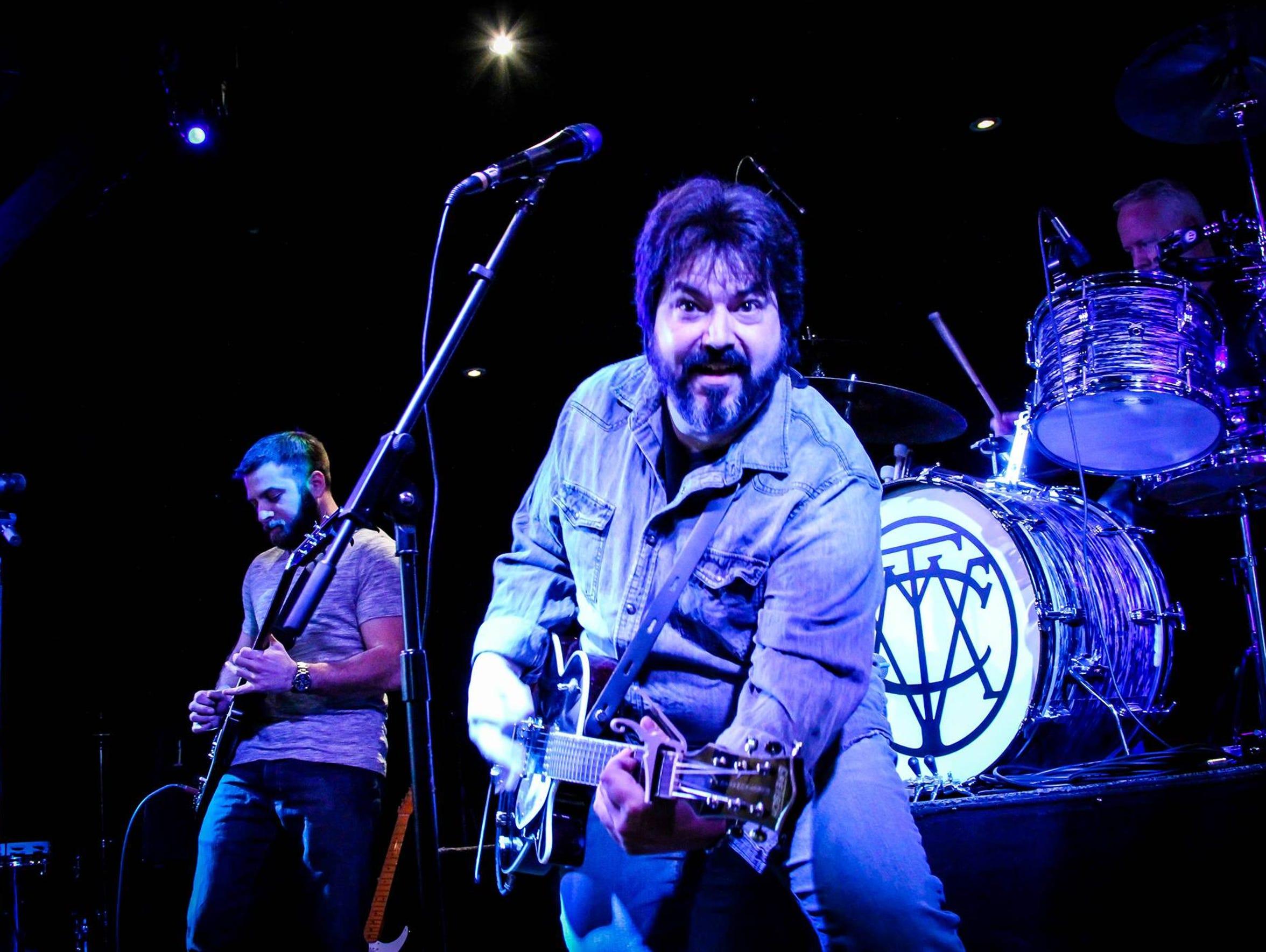 Anthony Parisi, of Thorofare, front his band Anthony