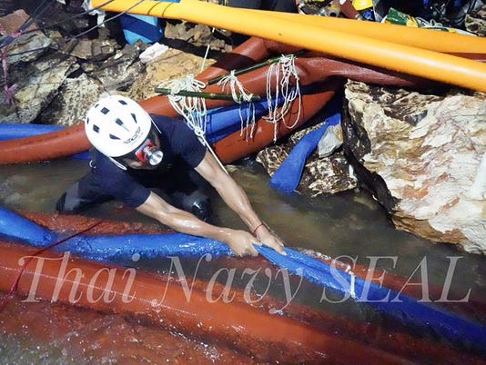 EPA THAILAND ACCIDENT CAVE DIS ACCIDENT (GENERAL) THA CH