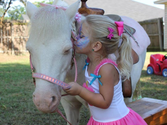 Tiny Tim has been around the Pensacola area dressed as everything from a unicorn to an Easter Bunny in the last 17 years.