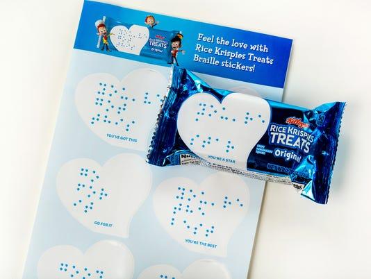 Kellog's RKT Braille