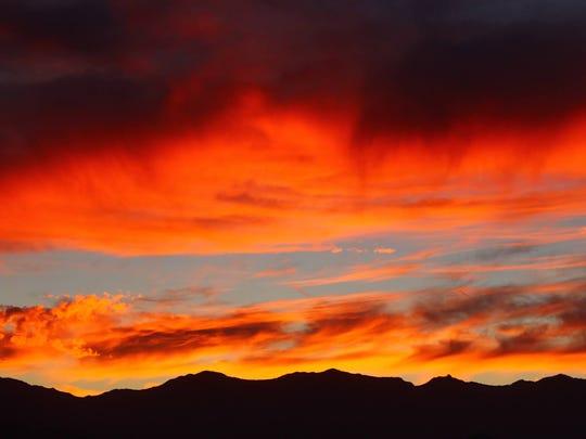 Sunset, Nov. 11, 2014