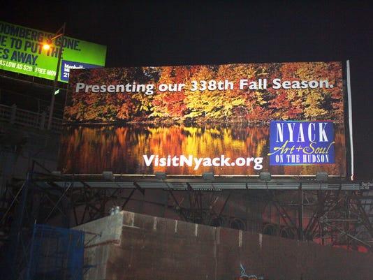 Nyack billboard