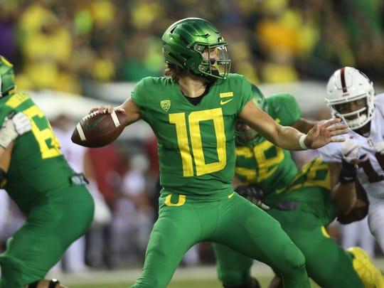 Oregon's Justin Herbert