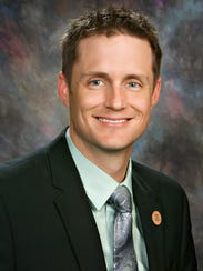 State Rep. Andrew Sherwood is a Democrat from Tempe.