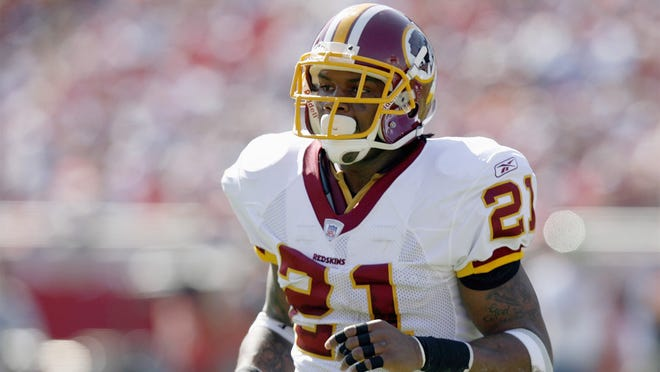 TAMPA - NOVEMBER 19: (FILE PHOTO) Sean Taylor #21 of the Washington Redskins jogs on the field during the game against the Tampa Bay Buccaneers on November 19, 2006 at Raymond James Stadium in Tampa, Florida. Taylor was shot in his home early November 26, 2007 in Miami.  (Photo by Matt Stroshane/Getty Images) ORG XMIT: GTY ID: 65412MS_D040434045