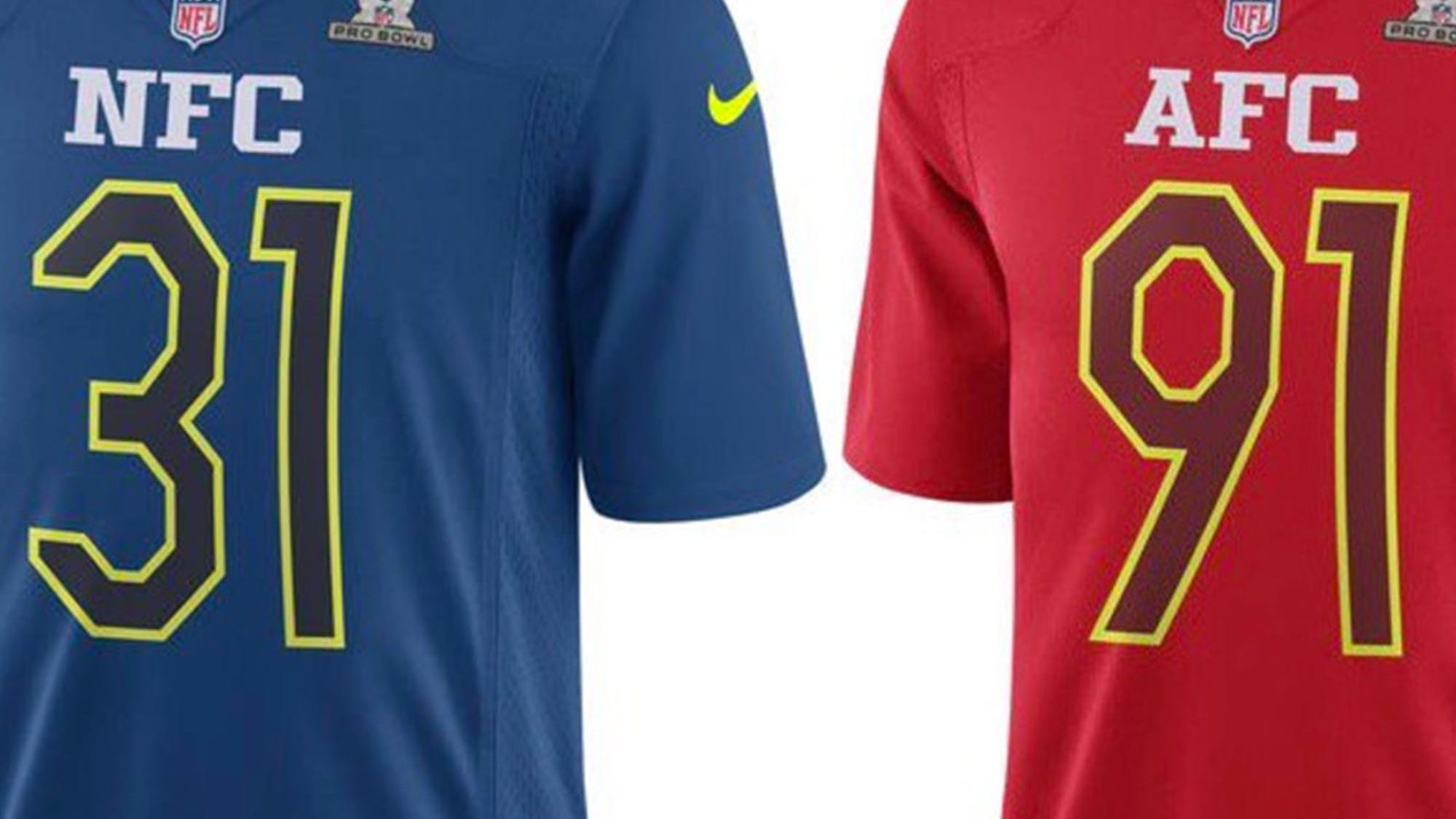 FTW: 2017 Pro Bowl jerseys are officially bad