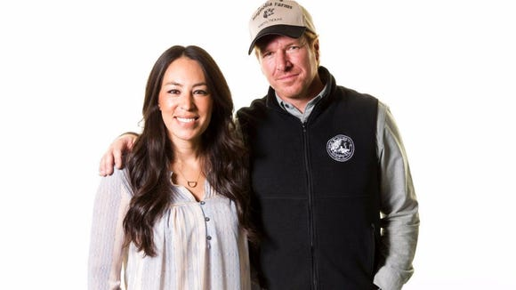Chip and Joanna Gaines from HGTV's 'Fixer Upper'
