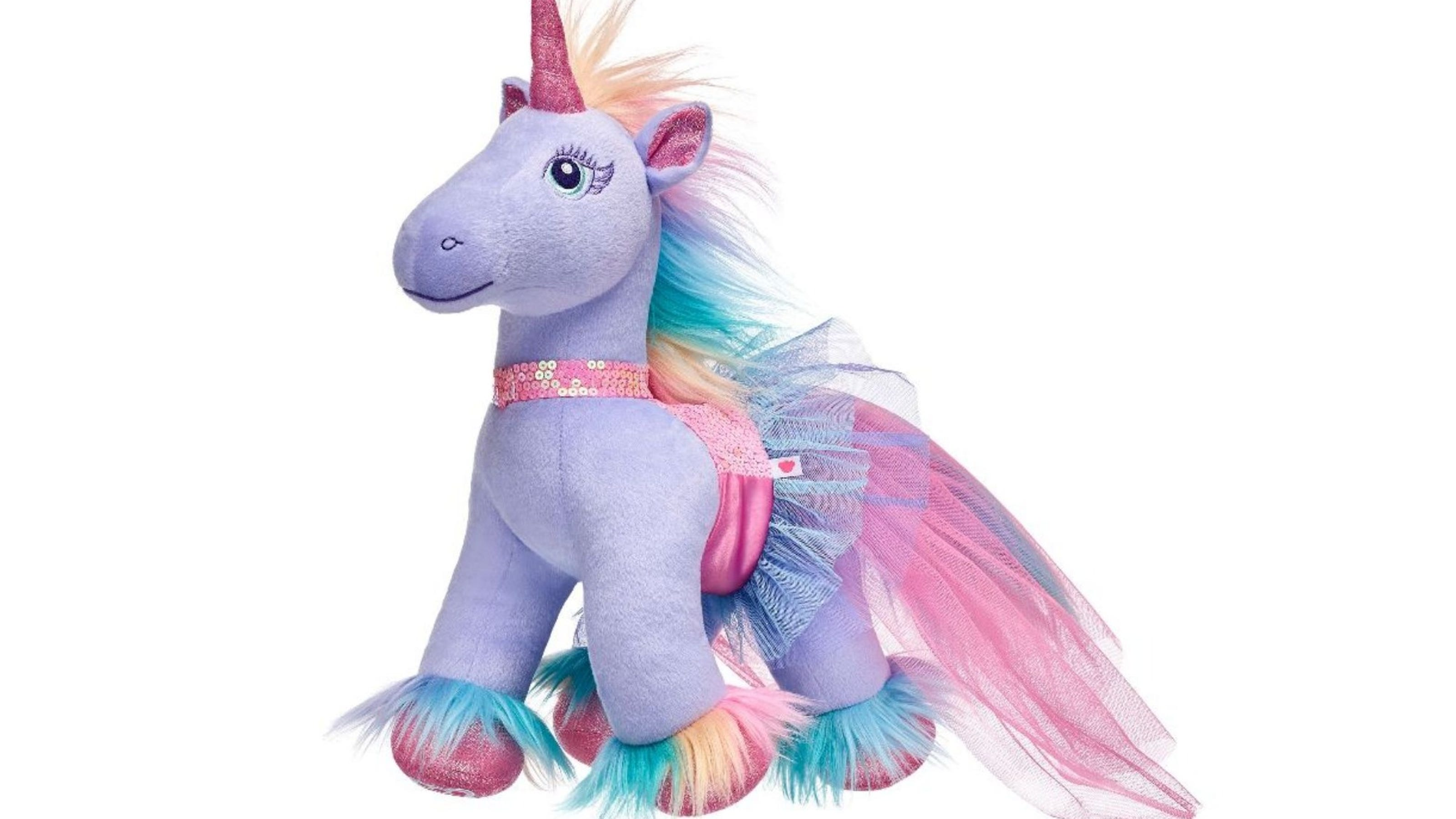 Build A Bear S Unicorn Stuffed Animal Will Be Your Kid S Next Obsession