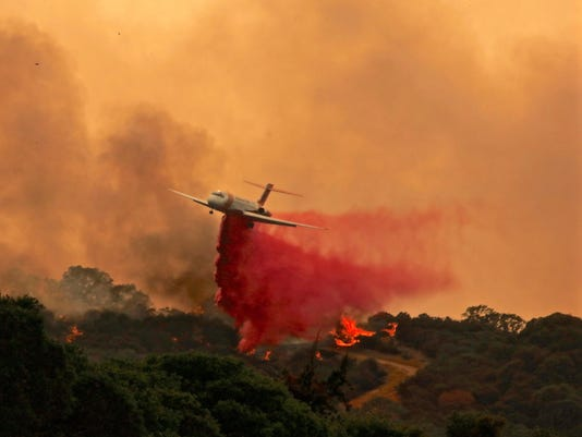 EPA USA CALIFORNIA WILDFIRES DIS FIRE USA CA