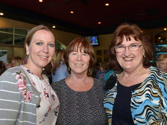 Jennifer Wiggins, Robin Hutchinson and Kathryn Hensley