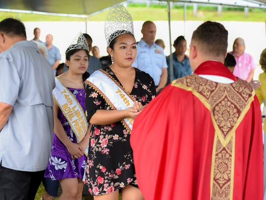 The 74th Guam Liberation Festival Queen Kamarin Nelson