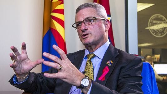 Tim Jeffries is former director of the Arizona Department of Economic Security.
