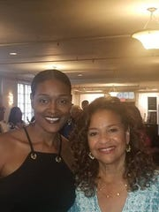 From left, dancer Sharon Freed-Moreland and actress/dancer