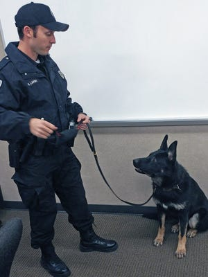 Fairfield Police Officer Sam Larsh and his partner Scout became the city's third K9 unit last November.