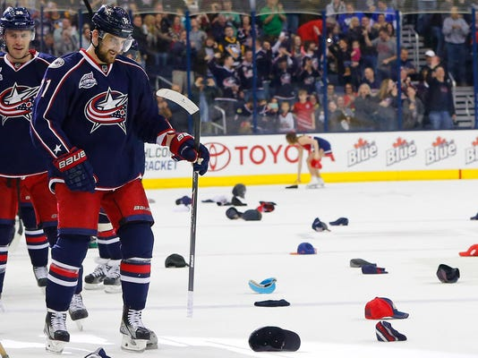 NHL: Pittsburgh Penguins at Columbus Blue Jackets