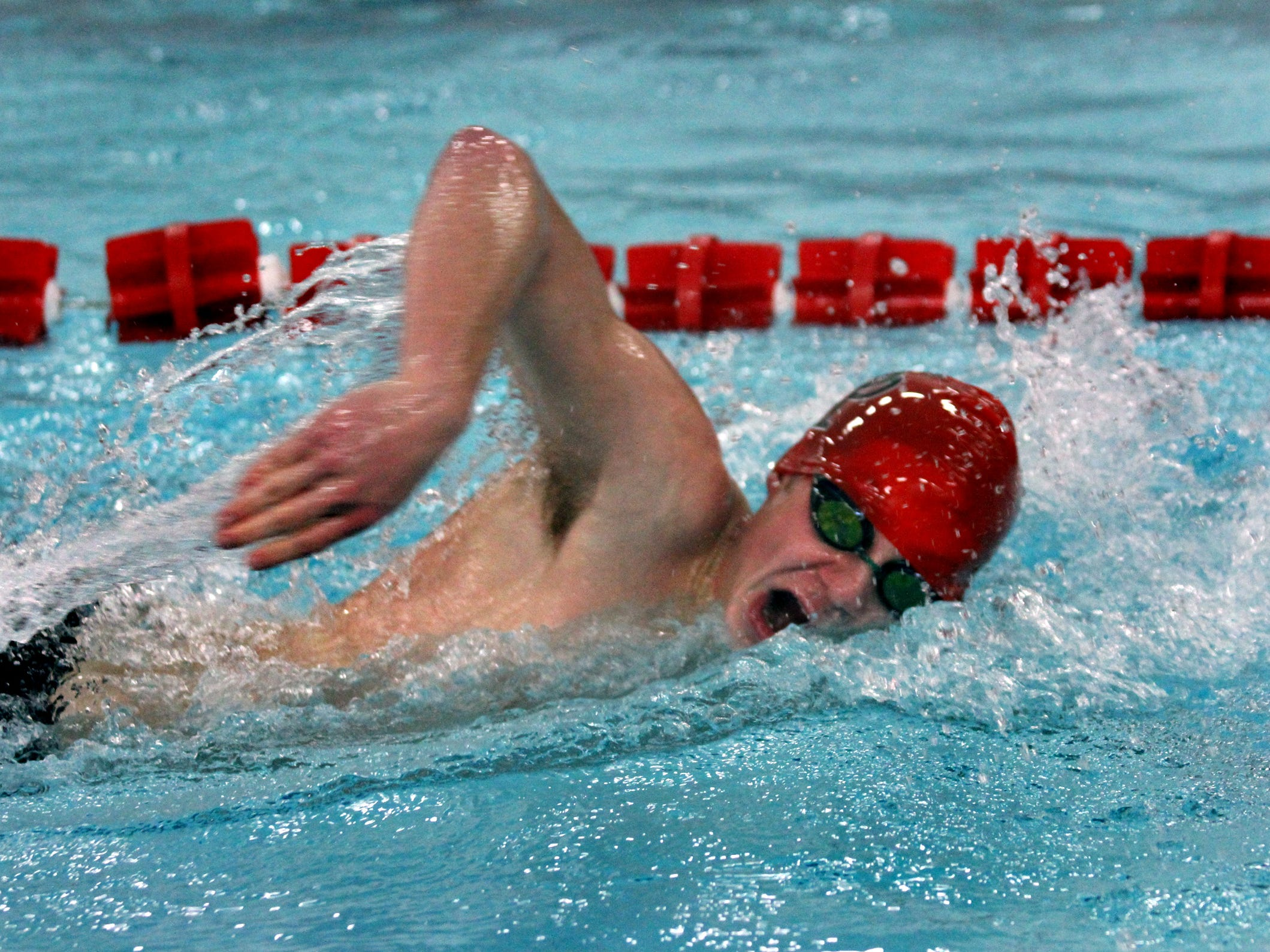 Tom Negaard capped his senior season at SPASH by qualifying for four WIAA state events and helping the Panthers to another Wisconsin Valley Conference title.
