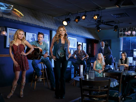 Season 1 cast photo for 'Nashville'