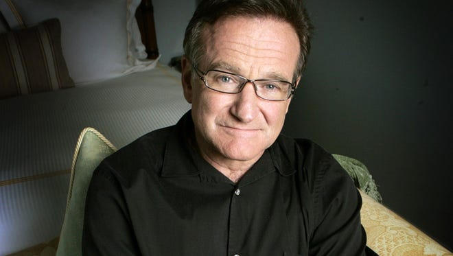 Robin Williams died Monday.